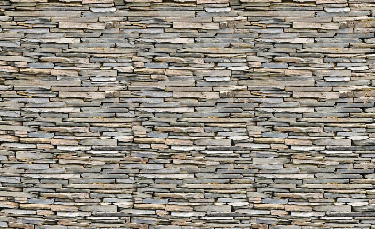 Fototapet - Perete din piatră si cărămizi (T034369T254184B)