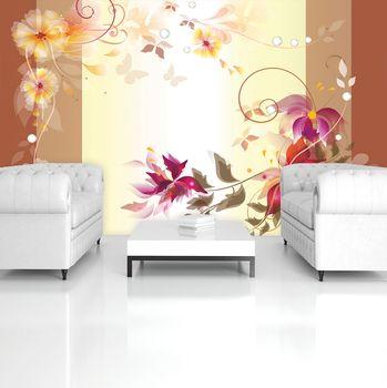 Fototapeta - Kvetinové umenie - abstraktné (T034385T254184A)