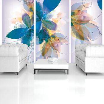 Fototapeta - Kvetinové umenie - abstraktné (T034389T254184A)