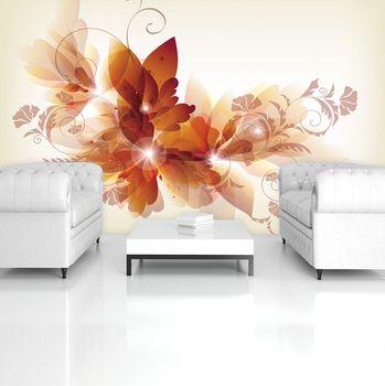 Fototapeta - Kvetinové umenie - abstraktné (T034390T254184A)