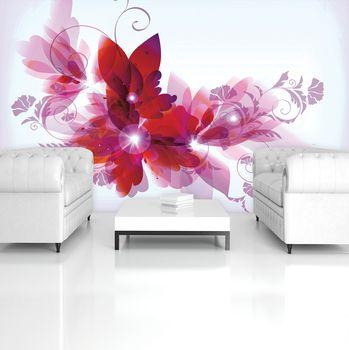 Fototapeta - Kvetinové umenie - abstraktné (T034391T254184A)