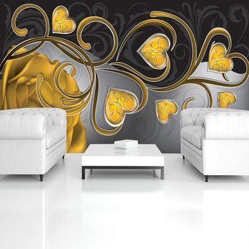 Foto tapeta - Cvjetna umjetnost - apstrakcija (T034485T254184A)