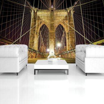 Fototapeta - Brooklynský most v New Yorku (T034547T254184A)