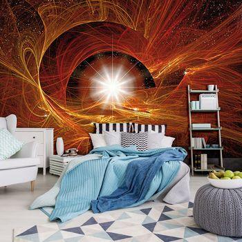 Foto tapeta - Zlatna apstraktna Supernova (T034553T254184A)