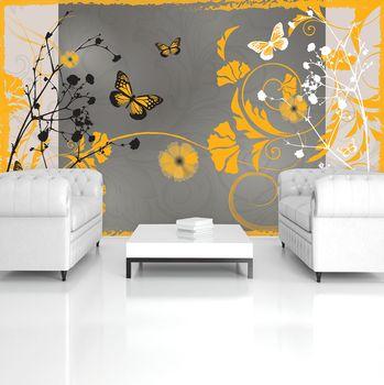Foto tapeta - Narančasti leptiri (T034646T254184A)