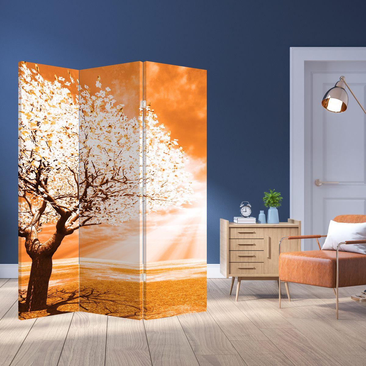 Paraván - Oranžový strom (P020095P135180)
