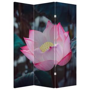 Paraván - Růžová květina (P020420P135180)