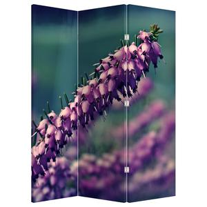 Paraván - Fialová květina (P020421P135180)