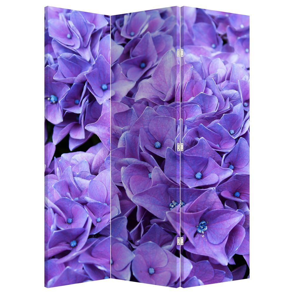 Paraván - Fialová květina (P020806P135180)