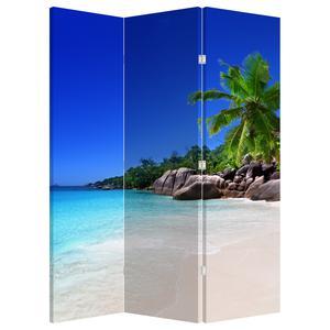 Paraván - Pláž na Praslin ostrově (P020936P135180)