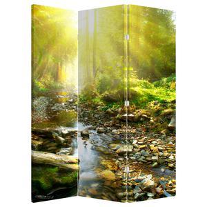 Paraván - Řeka v zeleném lese (P020942P135180)