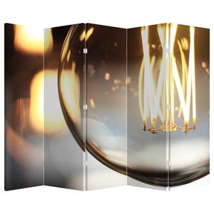 Paraván - Svítící žárovka (P020011P225180)