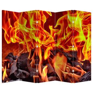 Paraván - Hořící uhlíky (P020049P225180)