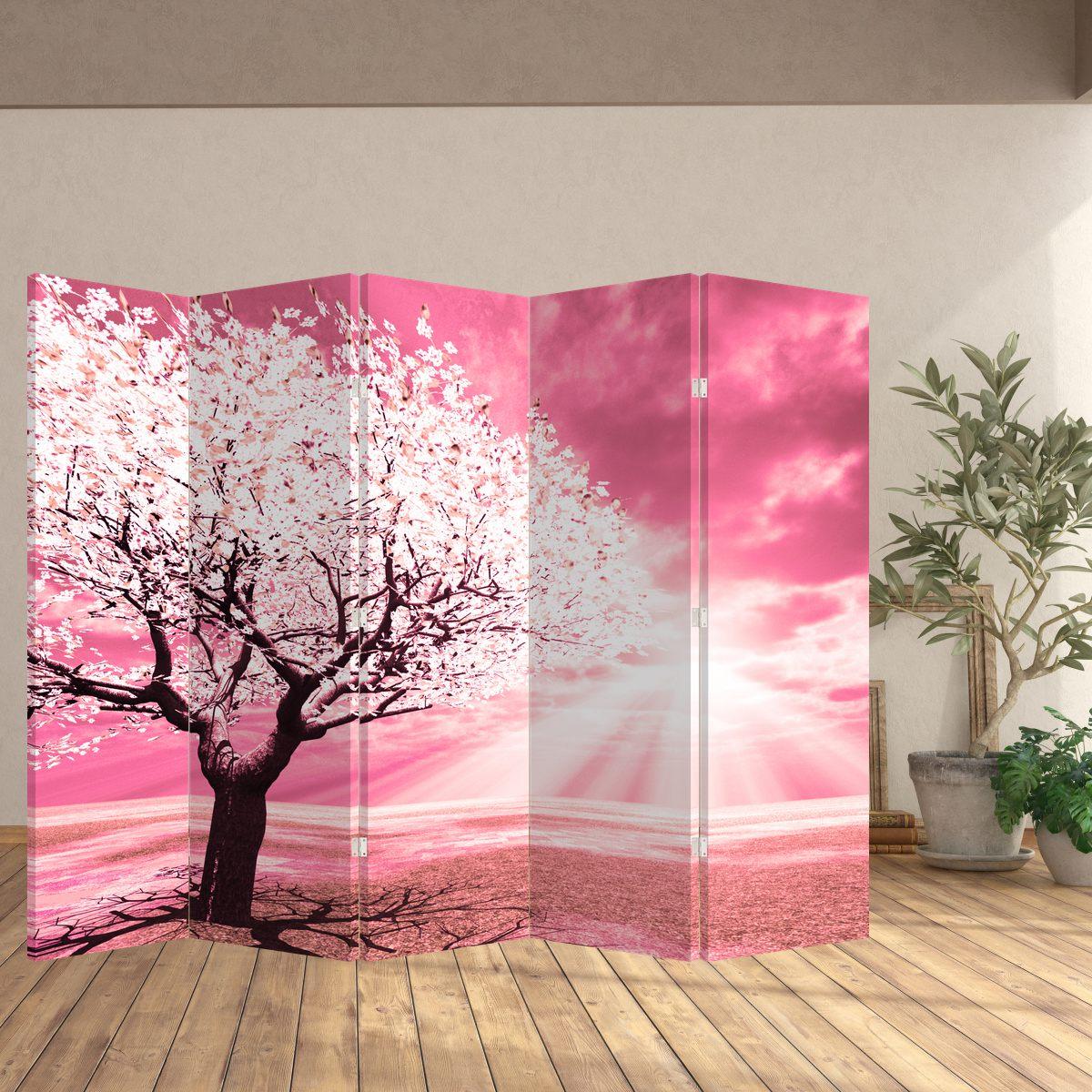 Paraván - Růžový strom (P020096P225180)