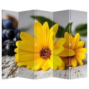 Paraván - Žluté květy (P020170P225180)