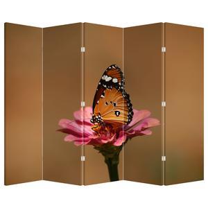 Paraván - Motýl na květině (P020268P225180)