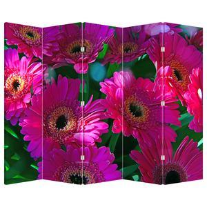 Paraván - Květiny (P020304P225180)