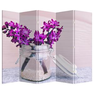 Paraván - Fialová květina (P020367P225180)