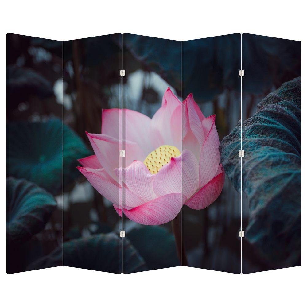 Paraván - Růžová květina (P020420P225180)