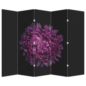 Paraván - Fialová květina (P020427P225180)
