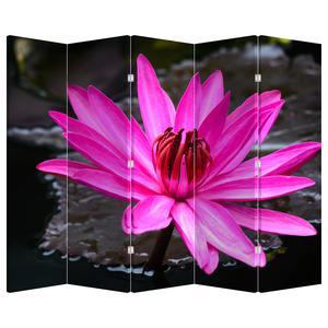 Paraván - Ružový kvet (P020636P225180)