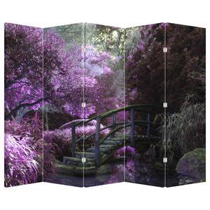 Paraván - Fialové stromy (P020683P225180)