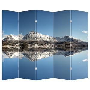 Paraván - Hegyek  és a tükröződés (P020820P225180)
