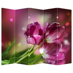 Paraván - Růžové tulipány (P020887P225180)