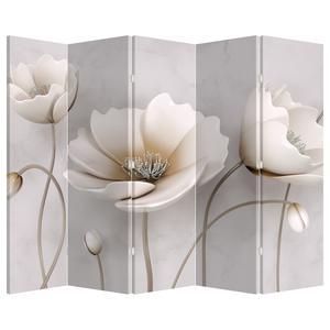 Paraván - Bílé květiny (P020898P225180)