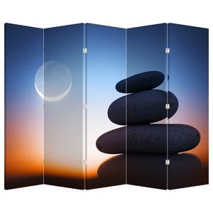 Paraván - Poskládané kameny na sobě (P020903P225180)