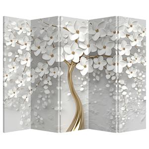 Paraván - Fehér fa virágokkal (P020977P225180)