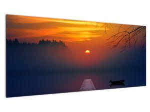Híd képe naplementekor (V020012V10040)