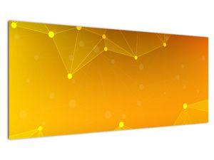 Abstraktní žlutý obraz (V020045V10040)
