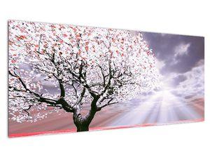 Červený obraz stromu (V020052V10040)
