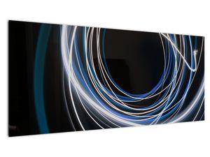 Tablou cu linii albastre (V020053V10040)