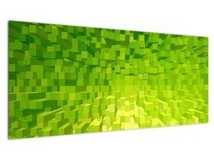 Obraz žlutozelených kostiček (V020057V10040)