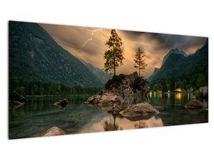 Slika - jezero u planinama (V020080V10040)