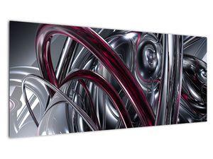 Tablou cu abstracție gri (V020094V10040)