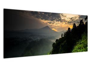 Obraz - zelená horská krajina (V020249V10040)