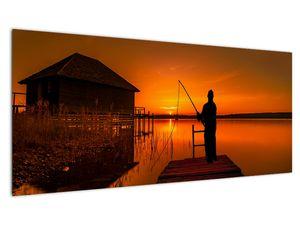 Tablou cu pescar (V020264V10040)
