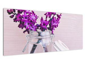 Obraz fialových květin (V020367V10040)