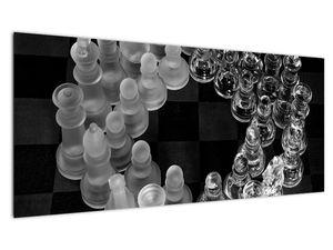 Obraz - černobílé šachy (V020598V10040)