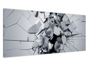 Obraz abstrakce 3D (V020700V10040)