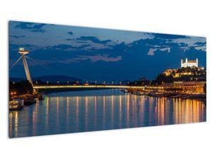 Obraz Bratislavy s hradem (V020704V10040)