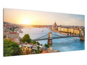 Obraz města Budapešť s řekou (V020712V10040)