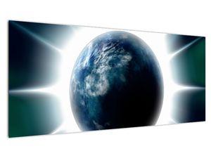 Obraz ozářené planety (V020816V10040)
