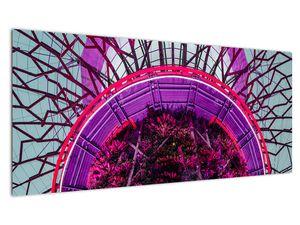 Abstraktní obraz - fialové větve (V020821V10040)
