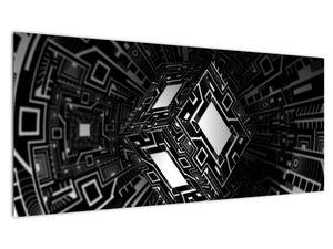Slika apstraktne kocke (V020830V10040)