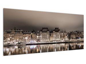 Slika grada u polumraku (V020854V10040)