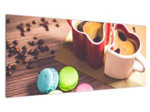 Obraz kávy a makronek (V020876V10040)